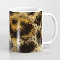 cheetah Mugs featuring Cheetah by Some_Designs