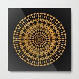 Mandala1 Metal Print