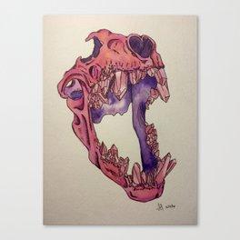 Gemskull Canvas Print
