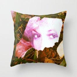 Vintage Yard Porn Throw Pillow