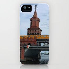 The Oberbaum Bridge, BERLIN iPhone Case