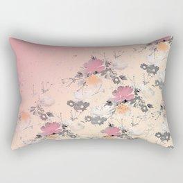 ombre floral - all Rectangular Pillow