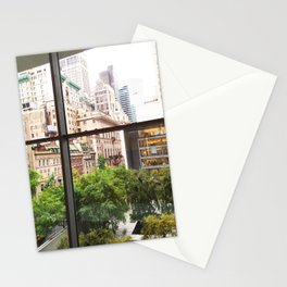 115. Room with view, New York Stationery Cards