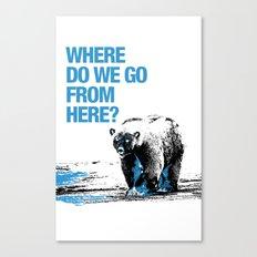WHERE? Canvas Print