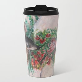 I'm healing with time Metal Travel Mug