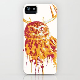 Owlope Stripped iPhone Case