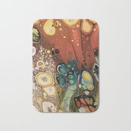 Autumn leaf colors Bath Mat