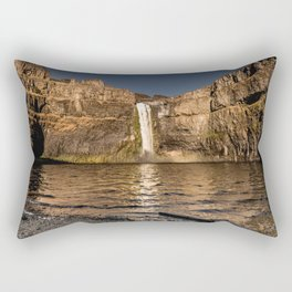 Desert Waterfall - Summer In Palouse Rectangular Pillow