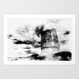 The Haunted Castle Art Print