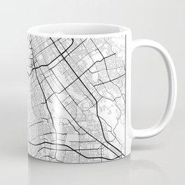Minimal City Maps - Map Of San Jose, California, United States Coffee Mug