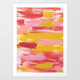The Seventies Art Print