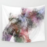 falcon Wall Tapestries featuring Falcon by NKlein Design