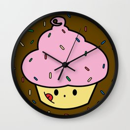 Cupster the Cupcake Wall Clock