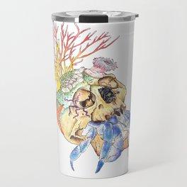 Home I: Hermit Crab Travel Mug