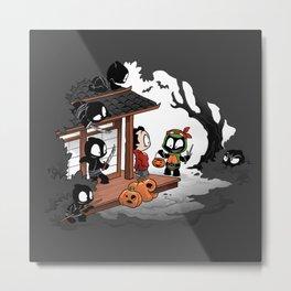Halloween Decoy Metal Print