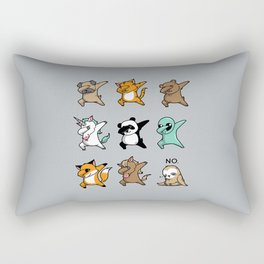 Dabbing Party Rectangular Pillow