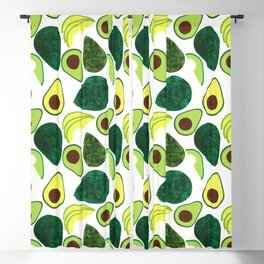 Avocados Blackout Curtain