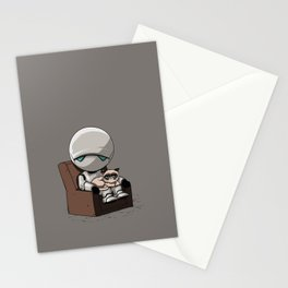 Marvin Grumpy Stationery Cards