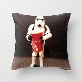 Large Coke Throw Pillow