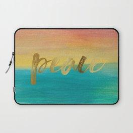 Peace, Ocean Sunset 3 Laptop Sleeve