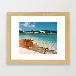 Island Landscape Framed Art Print