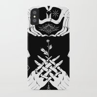 moth iPhone & iPod Cases featuring Moth by Nick Iluzada