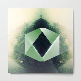 GreenD Metal Print
