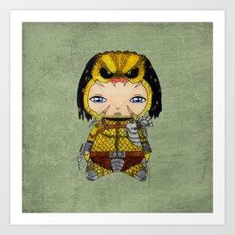 A Boy - Predator Art Print