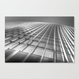 The Walkie Talkie London Abstract Canvas Print