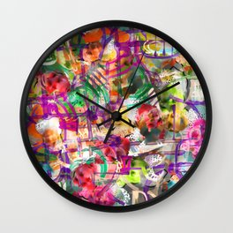 Dreamy thoughts Wall Clock