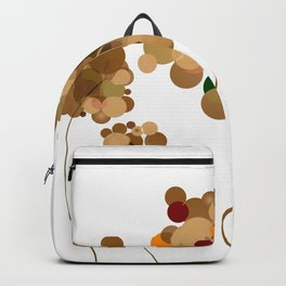 Abstract colorful Trees Backpack