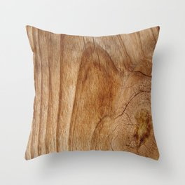Natural Wood Texture for Wood Artworks Lovers. Throw Pillow