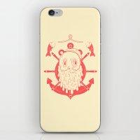 sailor iPhone & iPod Skins featuring Sailor by Matheus Costa