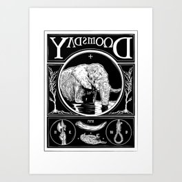 Doomsday Art Print