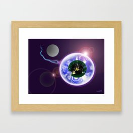 ANOTHER RETURN TO CONTINUE THE JOURNEY Framed Art Print