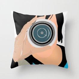 Lens Throw Pillow
