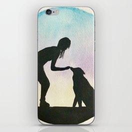 Humans Best Friend iPhone Skin