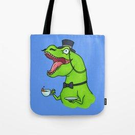 Tea Rex Tote Bag