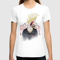 rock and roll T-shirts featuring ROCK & ROLL BIRD!! by TOXIC RETRO