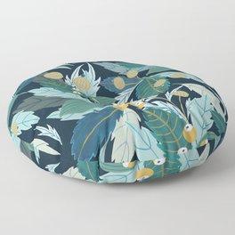 Midnight Folk Floor Pillow