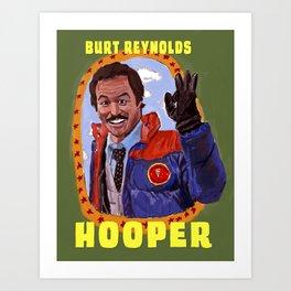 Burt Reynolds as 'Hooper' Art Print