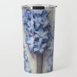 Light Blue Hyacinths Travel Mug