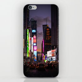 Times Square in Manhattan New York City iPhone Skin