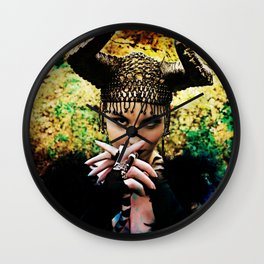 Something Wicked Wall Clock