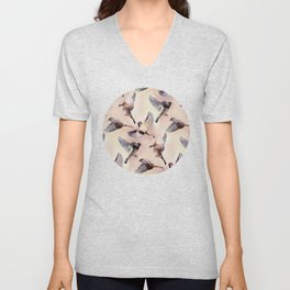 Sparrow Flight Unisex V-Neck