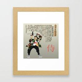 Edo-period Hypbeast Framed Art Print