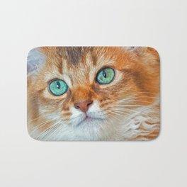 EYE CAT-CHING Bath Mat
