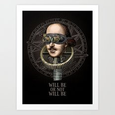 Will be or not will be Art Print