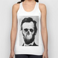lincoln Tank Tops featuring Lincoln by JoolySalas