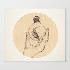 Organic V Canvas Print